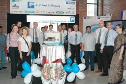 Teams Duerkopp Adler and EH Turel with Aman Agrawal post the launch of Duerkopp Adler – Turel Technology Pvt. Ltd.