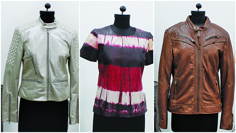 The product range at Saru International is diverse and includes men's wear and women's wear in myriad varieties of finishes, washes and effects such as tie & dye