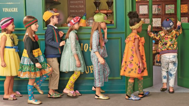 Kidswear's axis point to a trend-led progression