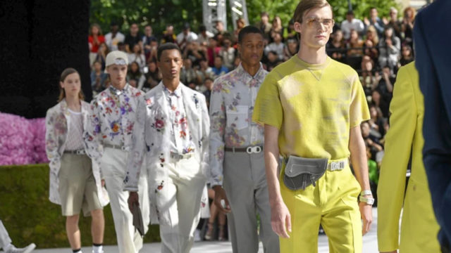 Top trends for men from Paris Fashion Week Spring/Summer 2019
