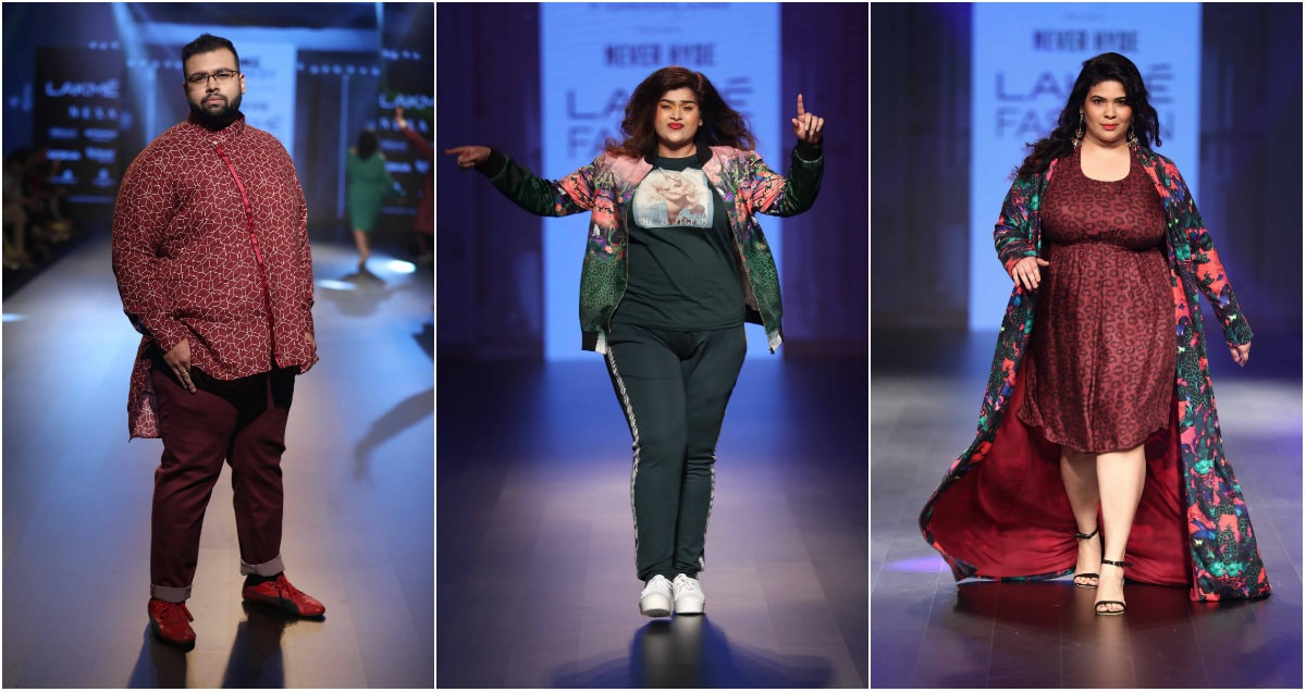 'Never Hyde' by Narendra Kumar at Lakme Fashion Week Winter Festive 2018