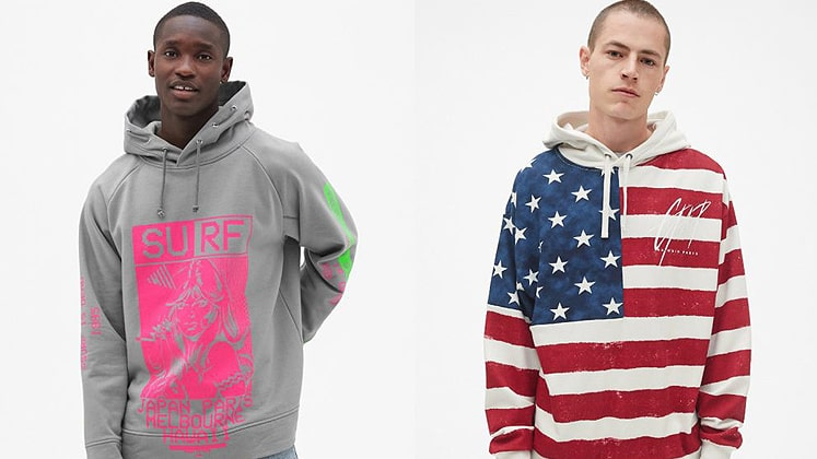 Classic Gap sweater gets a twist as the brand collabs with 8 leading designers