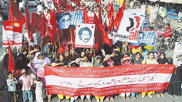 Garment workers call for strict labour laws in Pakistan