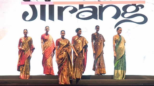FDCI designers showcase at Vibrant Gujarat Global Summit in Ahmedabad