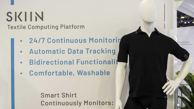 Myant Inc to unveil smart shirt that will monitor body's blood pressure