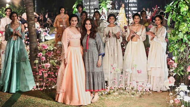 Anita Dongre closes the Sustainable Fashion Day of LFW S/R