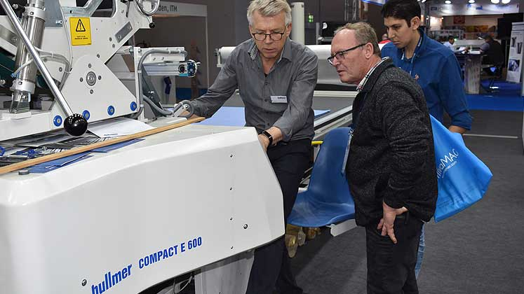 Texprocess 2019: Bullmer unveils Industry 4.0 solution for cutting room optimisation