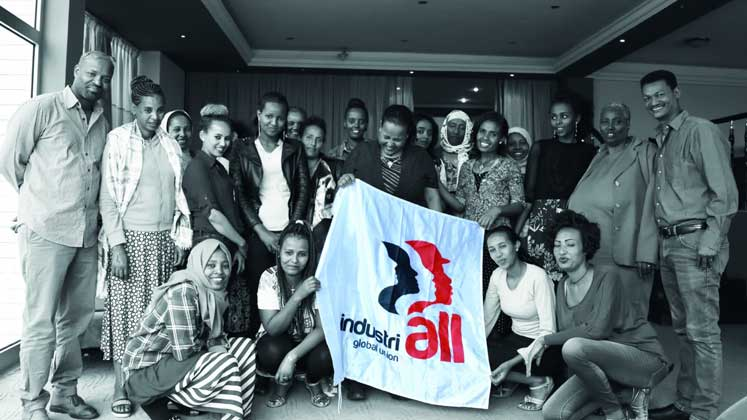 Speak against labour rights violation! IndustriALL urges Ethiopia's women workers