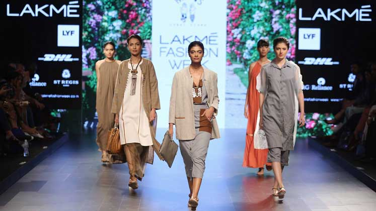 Lakmé Fashion Week back with its Winter Festive Edition.