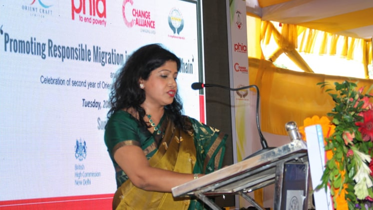 Nidhi Dua, Head of India Region, M&S sharing her views