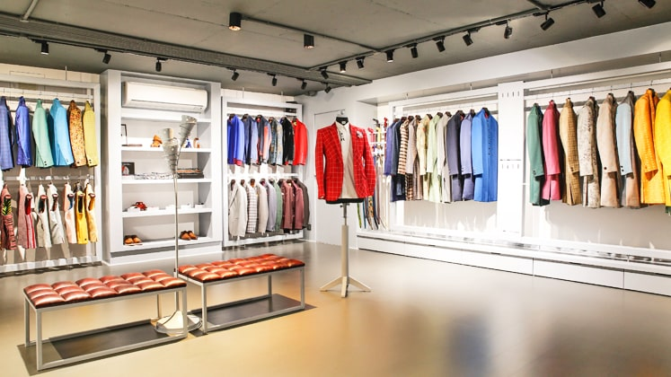 The Maroon Suit store