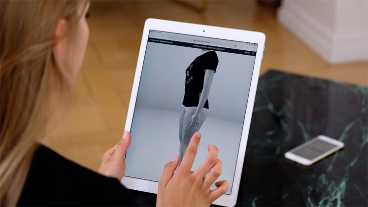 Meepl unveils mobile-enabled virtual dressing room