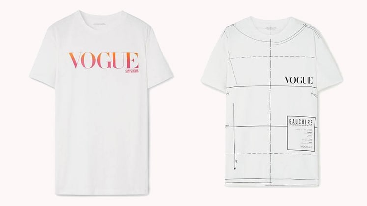 Limited edition Vogue T-shirts