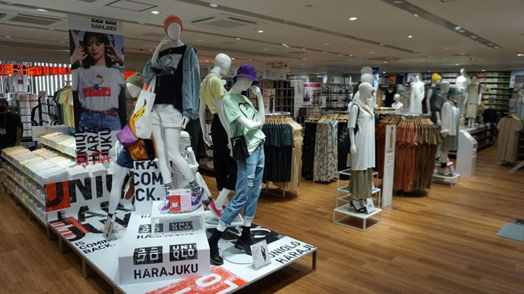 Uniqlo Harajuku, opened in June 2020